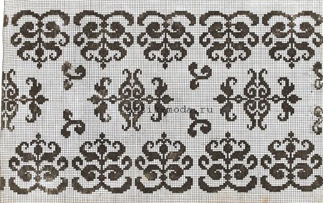 схемы-для-вышивки-крестом-цветы-орнаменты (631x397, 144Kb)