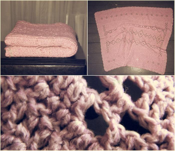 розовый плед (700x602, 190Kb)