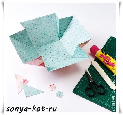 """手工纸艺制作教程:""""节日的篮子""""(大师班) - maomao - 我随心动"""