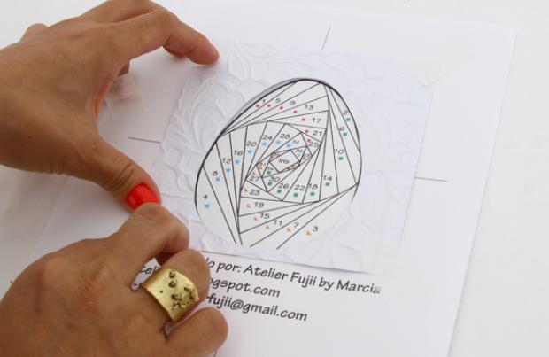 Пасхальная открытка в технике Айрис фолдинг (12) (620x403, 382Kb)
