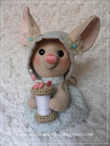 текстильная игрушка крыска (5) (450x600, 299Kb)