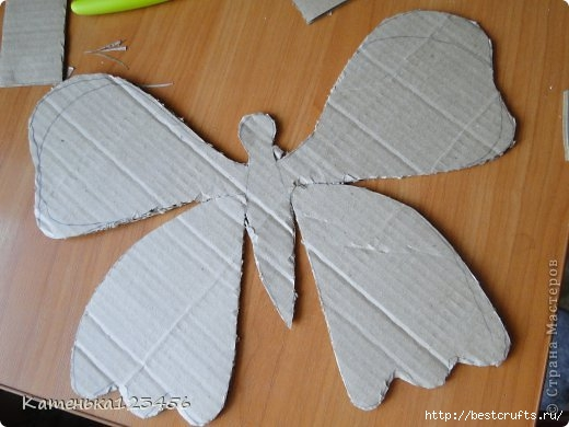 Декоративная картина с бабочкой (5) (520x390, 105Kb)
