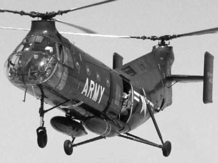 вертолет продольной схемы,