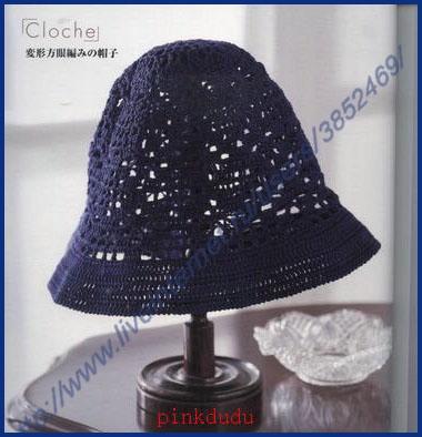 Тёмно-синяя панамка (380x394, 92Kb)