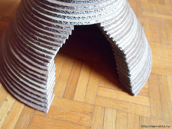 Casa Gato de cartón.  Master Class (20) (700x525, 318Kb)