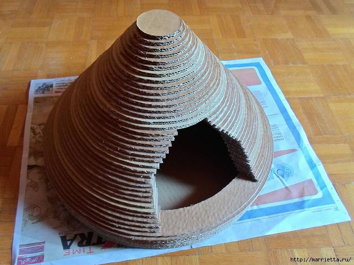 Casa Gato de cartón.  Master Class (31) (700x525, 310KB)