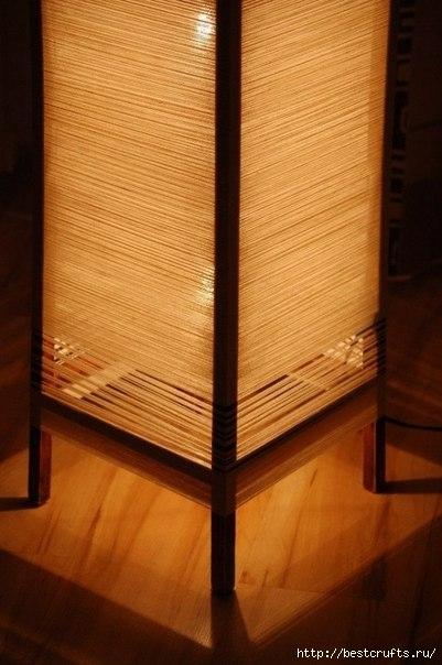 Напольная лампа своими руками (6) (401x604, 136Kb)