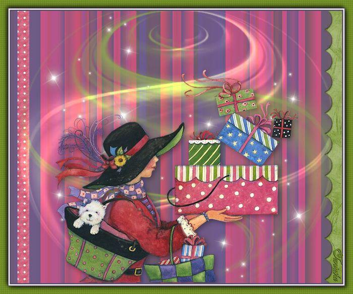 Сказочные открытки с днем рождения женщине