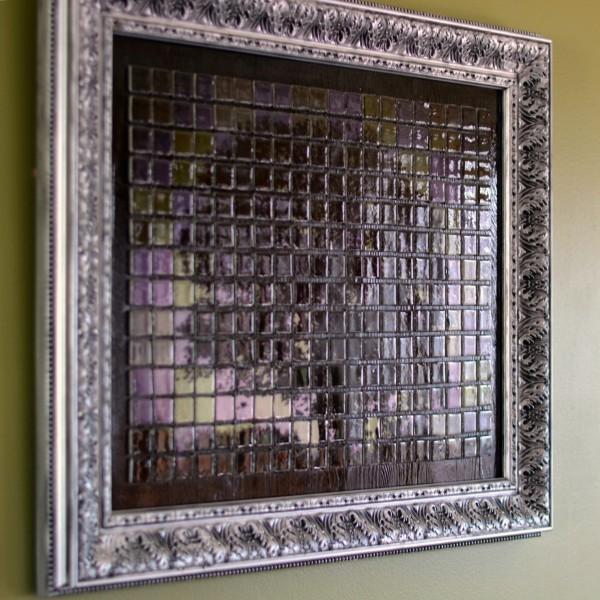 Панно из керамической плитки - мозаики и распечатки на принтере (2) (600x600, 330Kb)