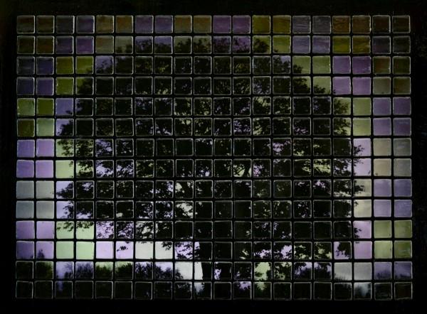 Панно из керамической плитки - мозаики и распечатки на принтере (9) (600x442, 275Kb)