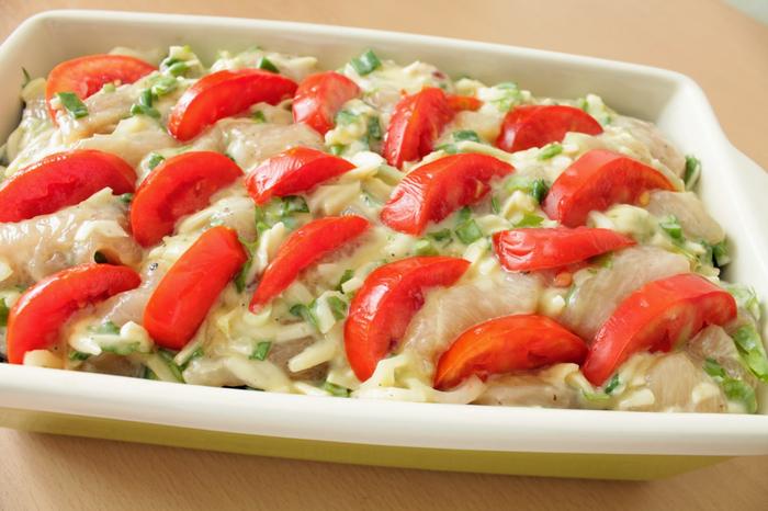 Куриное филе - запекаем с овощами (8) (700x466, 347Kb)
