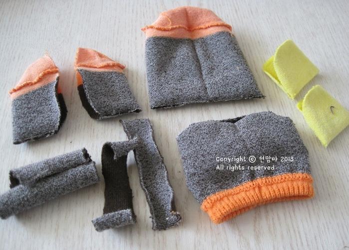 cuervo.  juguetes de los calcetines (3) (700x502, 598KB)