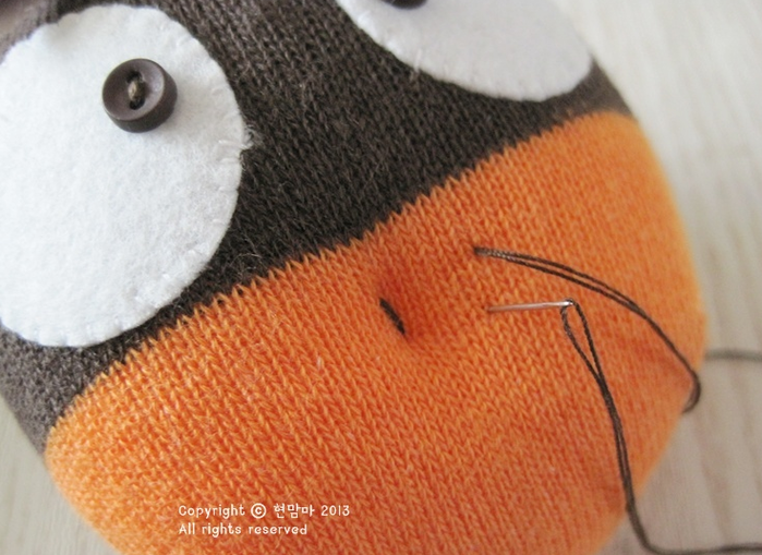 ворона. игрушки из носков (12) (700x509, 524Kb)