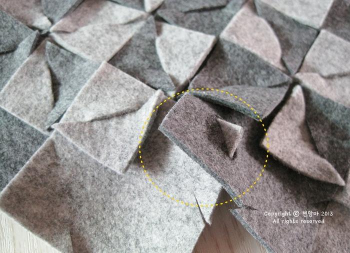 Подставка под горячее из войлока. Фото мастер-класс (12) (700x506, 603Kb)