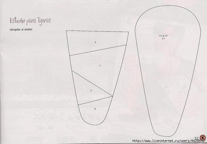 Органайзер для ножниц своими руками схемы 9