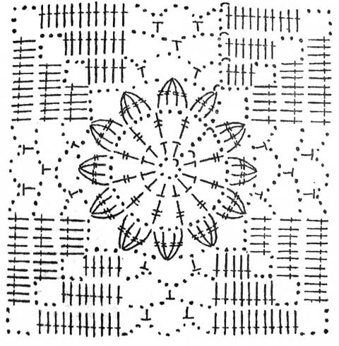 Связан из маленьких квадратов