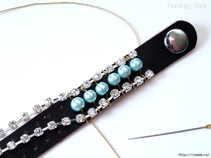 sewing-pearls-and-rhinestones-to-leather-750x562 (700x524, 167Kb)