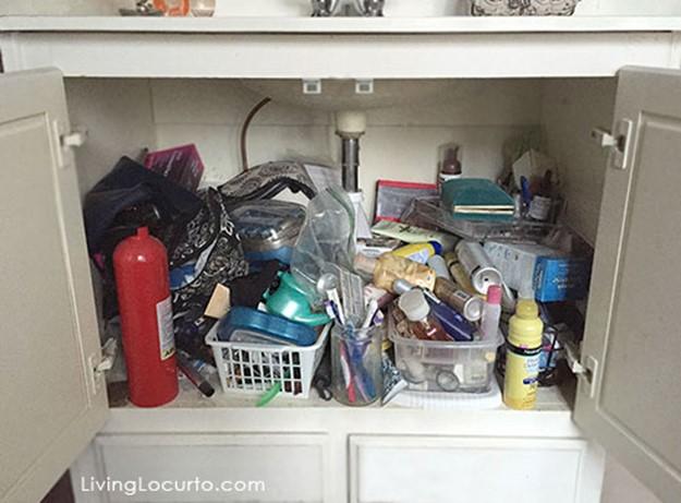 Супер идеи, как устроить место для хранения вещей под мойкой 126809690 121515 2120 mojka12