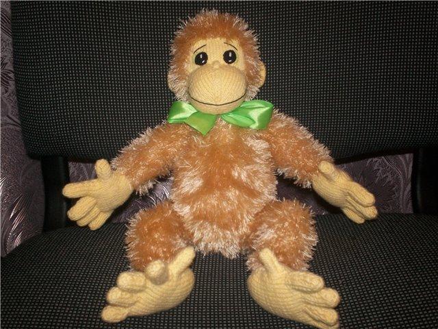 Видео как связать обезьяну