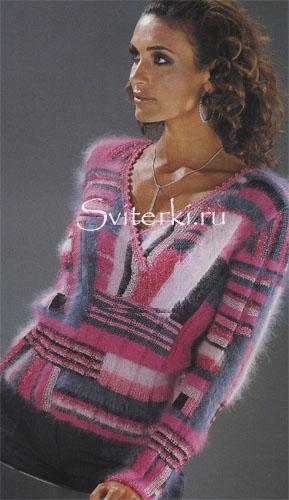vyazanie_spicami_jenskiy_pulover-1 (289x500, 64Kb)