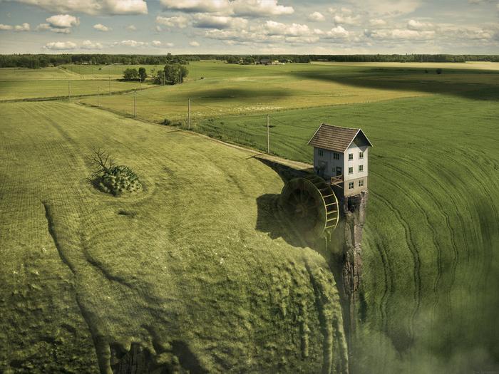 Невероятные фотоработы от Erik Johansson (25 фото)