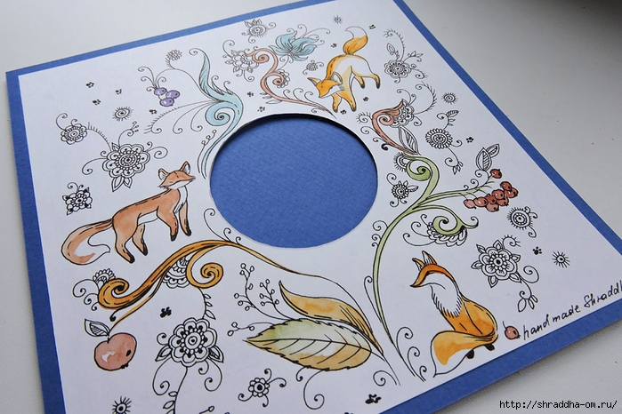открытка ЛИСИЧКА от Shraddha (3) (700x466, 301Kb)