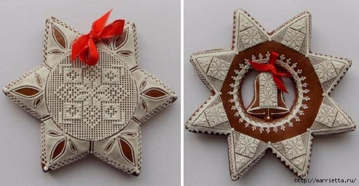 Рождественские пряники. Красивые идеи (5) (700x362, 182Kb)