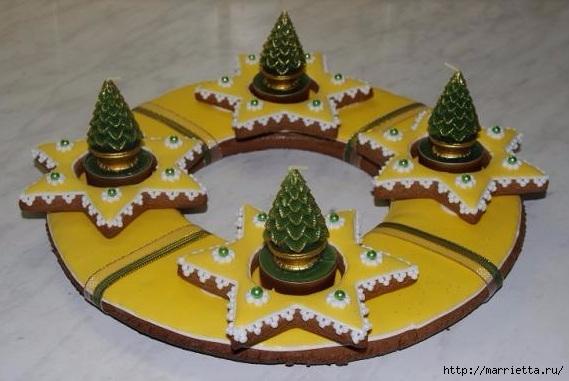 Рождественские пряники. Красивые идеи (17) (569x381, 136Kb)