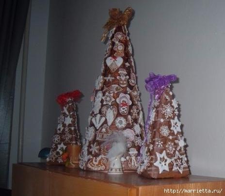 Рождественские пряники. Красивые идеи (32) (464x404, 92Kb)