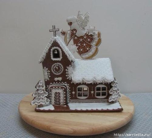 Рождественские пряники. Красивые идеи (50) (501x455, 119Kb)