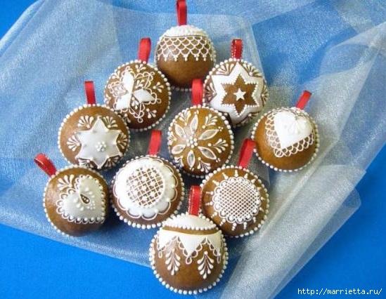 Рождественские пряники. Красивые идеи (59) (549x426, 184Kb)