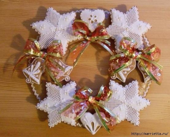 Рождественские пряники. Красивые идеи (76) (554x448, 160Kb)