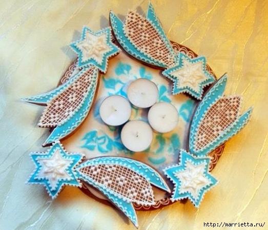 Рождественские пряники. Красивые идеи (11) (523x450, 176Kb)