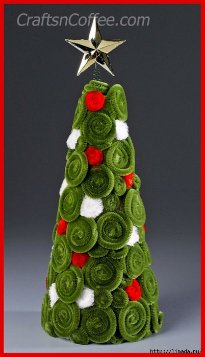 diy-chenille-christmas-tree (402x700, 193Kb)