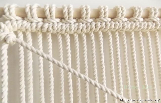 手工绳结编织教程:绳结与流苏  二、技术 1 - maomao - 我随心动