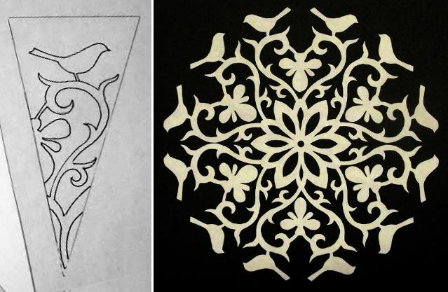 30 простых шаблонов снежинок для вырезания из бумаги (10) (639x417, 266Kb)