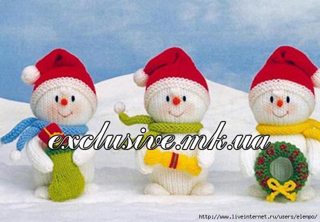 Снеговики-спицами- (650x450, 175Kb)