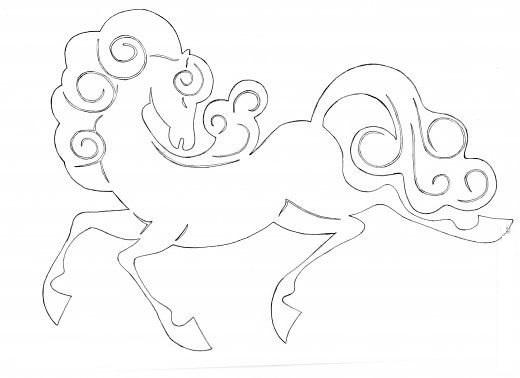 Лошадка из