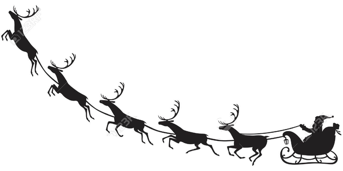 16851169-Silhouette-of-Santa-Claus-sitting-in-a-sleigh-reindeer-who-pull-Stock-Vector (700x350, 46Kb)
