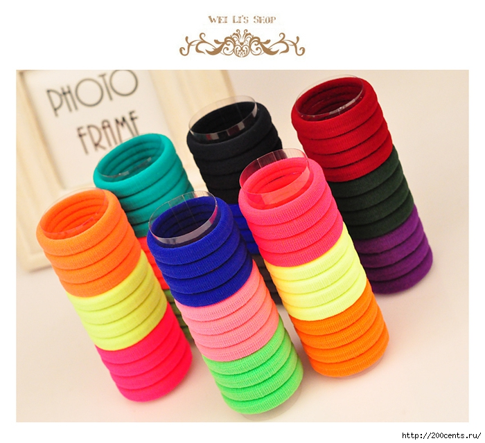 10pcs/lot Candy Fluorescence Colored Hair Holders High Quality Rubber Bands Hair Elastics Accessories Girl Women Tie Gum/5863438_10pcslotCandyFluorescenceColoredHairHoldersHighQualityRubberBandsHairElasticsAccessoriesGirlWomen4 (700x640, 275Kb)