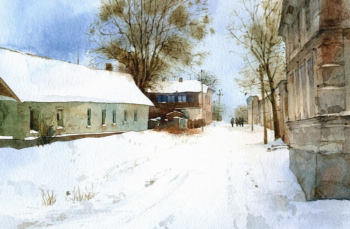 Творчество художника Сергея Курбатова