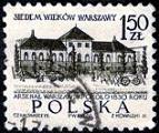 2.3.2.12.1 7 веков Варшавы Арсенал ВАршавы ок.1830г (143x120, 14Kb)