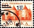 2.3.2.12.5 7 веков Варшавы. Памятник ренессанса. Надпечатка 1.50Zł на 0.6Zł (139x117, 20Kb)