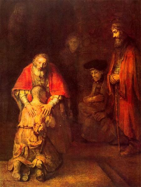 рембрандт-возвращение блудного сына (450x598, 275Kb)