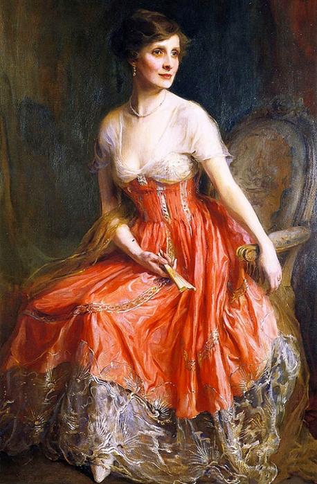 Mrs. Archie Graham (née Dorothy Shuttleworth) (458x700, 455Kb)