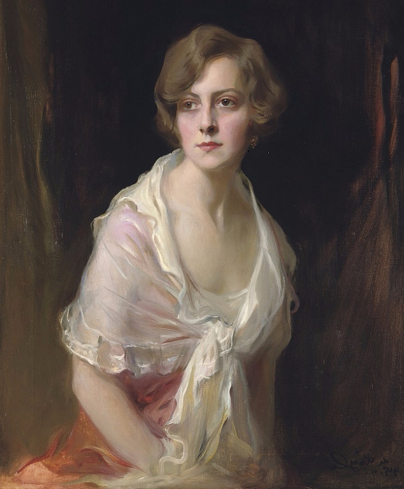 Миссис Клауд Маллинс, урожденная Гвен Брандт (Mrs Claud Mullins, nee Gwen Brandt), 1915 (577x700, 366Kb)