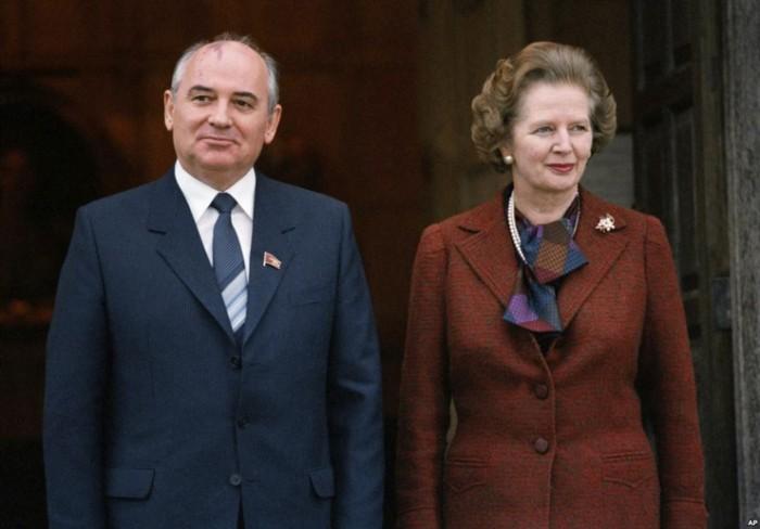 Тэтчер и Горбачов