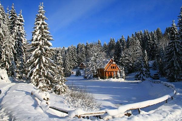 Как лучше проводить активный отдых зимой. Отельно-туристический комплекс «Озеро Vita».