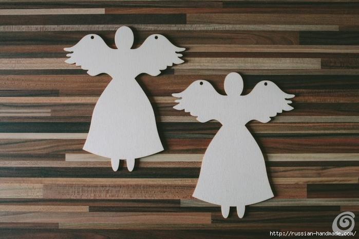 Рождественские ангелы - подвески из картона (3) (700x466, 222Kb)