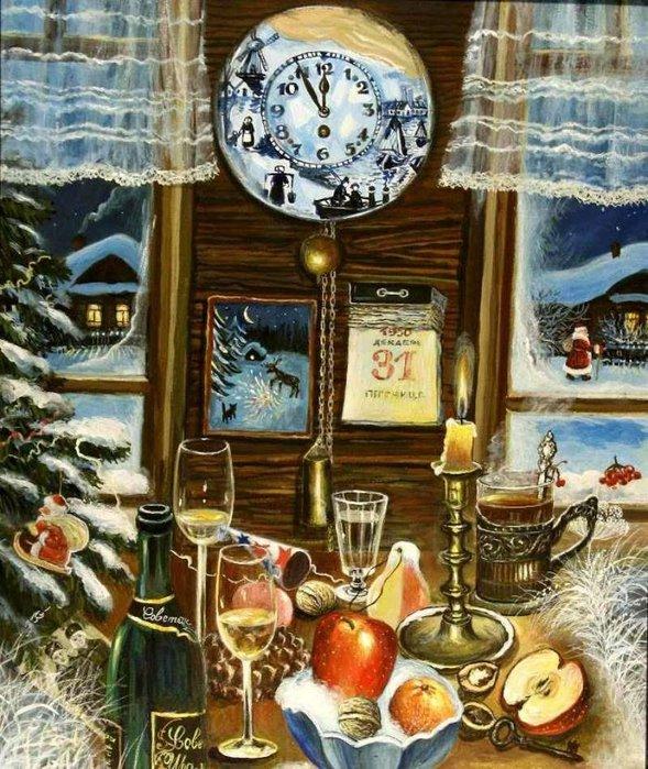 Дед мороз всю ночь колдовал музыка